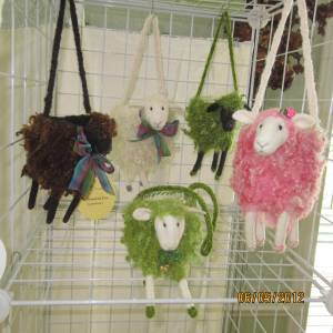 Wooly Sheep Bags