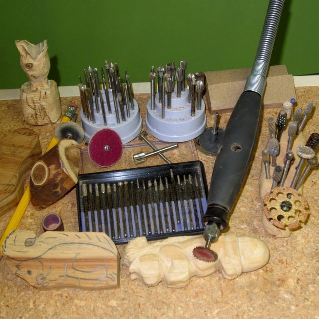 power wood carving tools