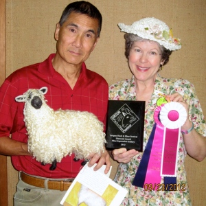 Whimsical Ewe crew with Awards