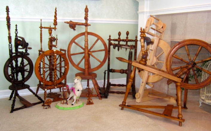 Spinning Wheel Flock