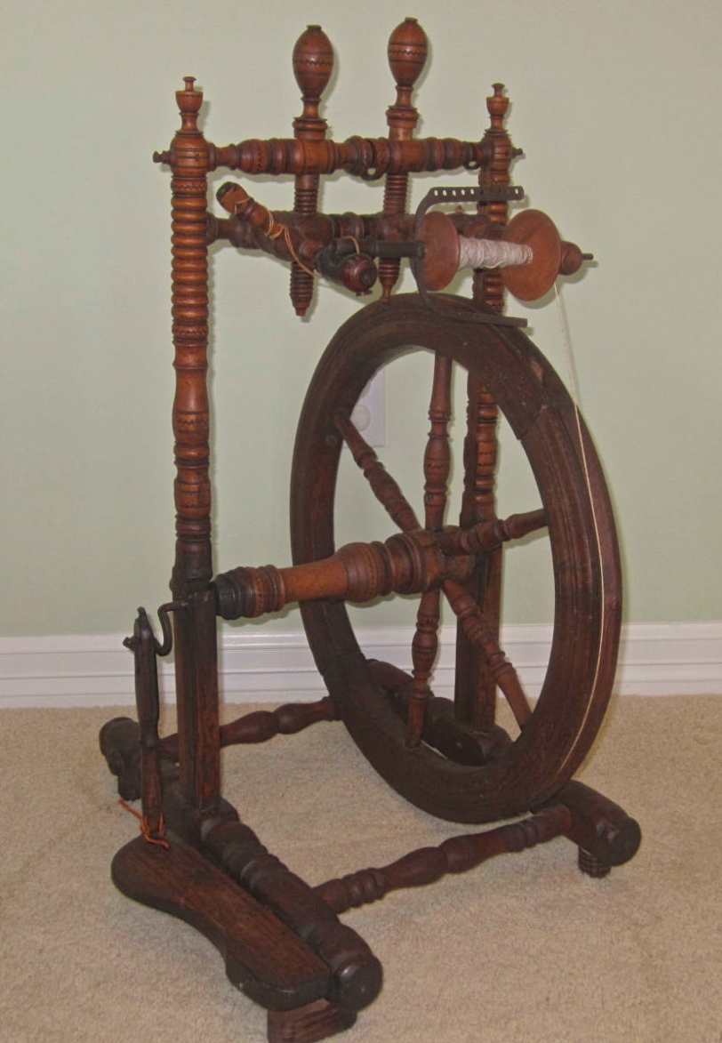 Swiss Side Treadle wheel