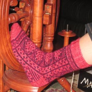 Award-worthy socks