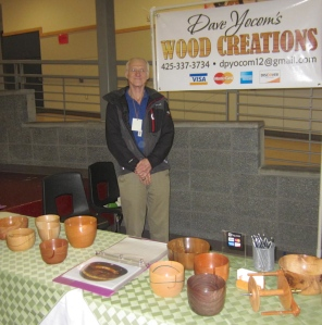 Dave makes beautiful yarn bowls and more....