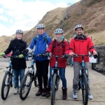Ready to cycle Kerrera island