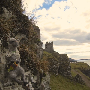 Whimsy at Gylen castle