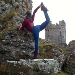 Yoga daughter & Gylen castle