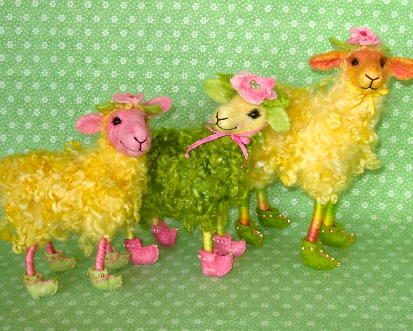 Bloomin ewe, silly parade