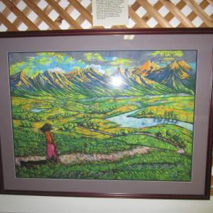 Beautiful Batik scene