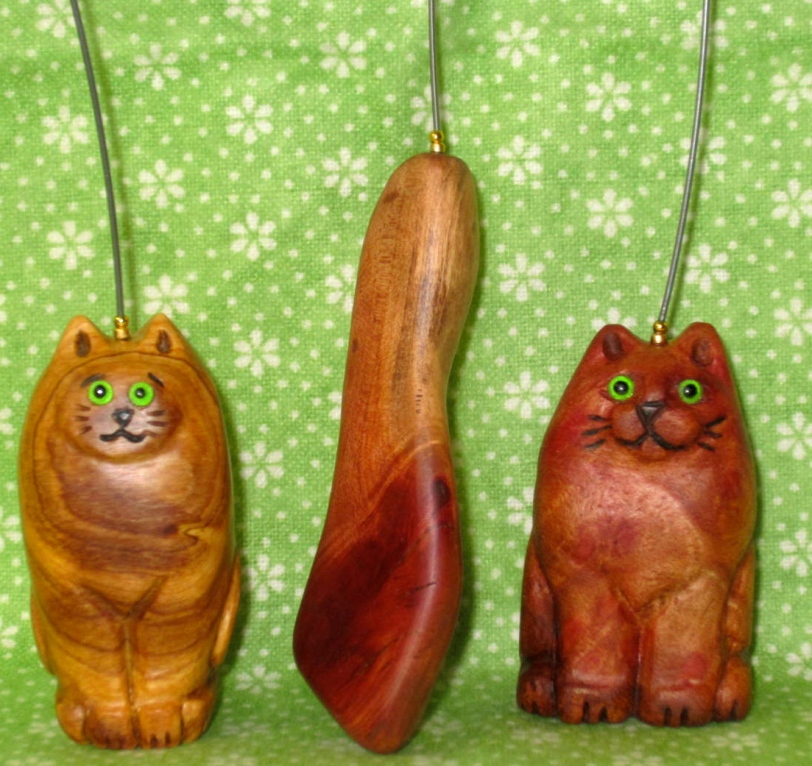 Cat hooks front, group 2