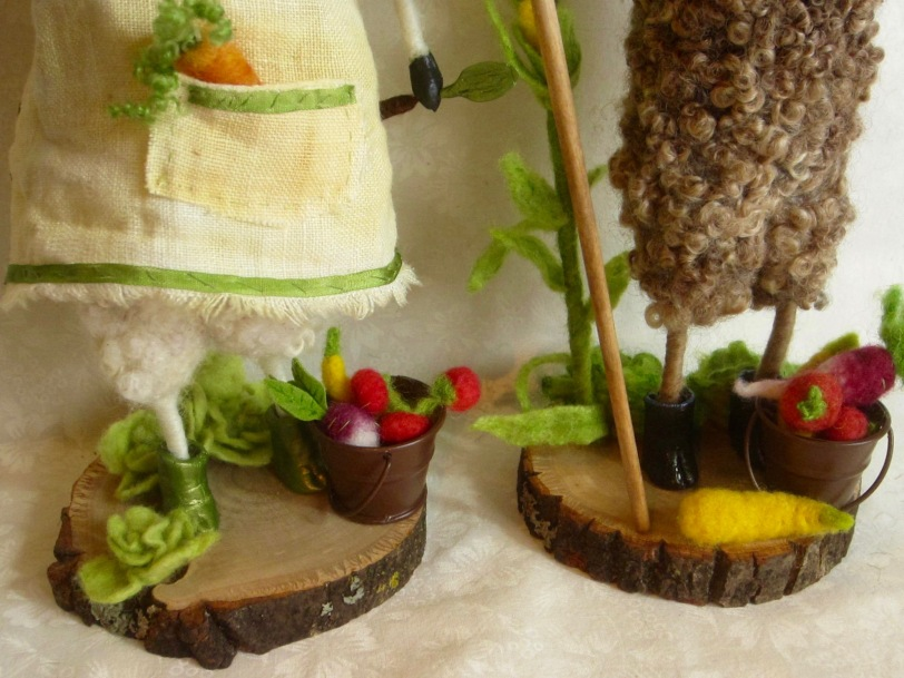 Gardener sheep boots & veggies.jpg