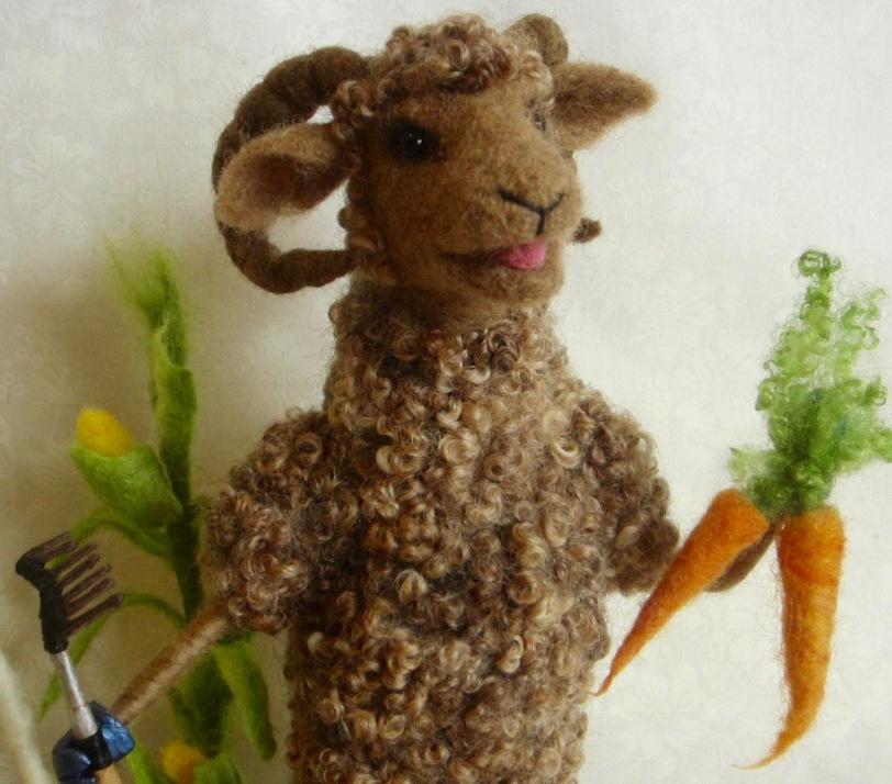Gardener sheep ram